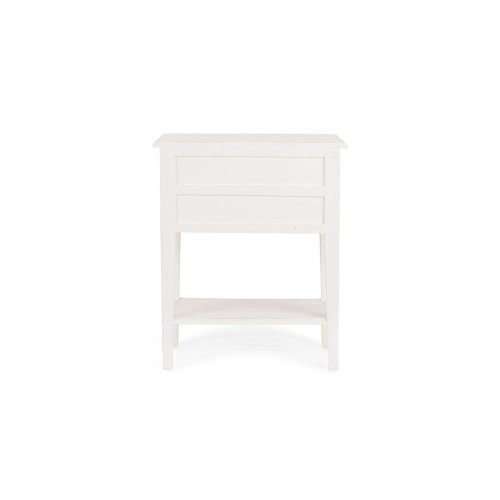 Eton 3 Drawer Side Table - WHD