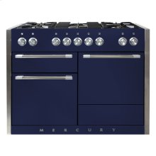 AGA Mercury 48 Dual Fuel Midnight Sky with Chrome trim