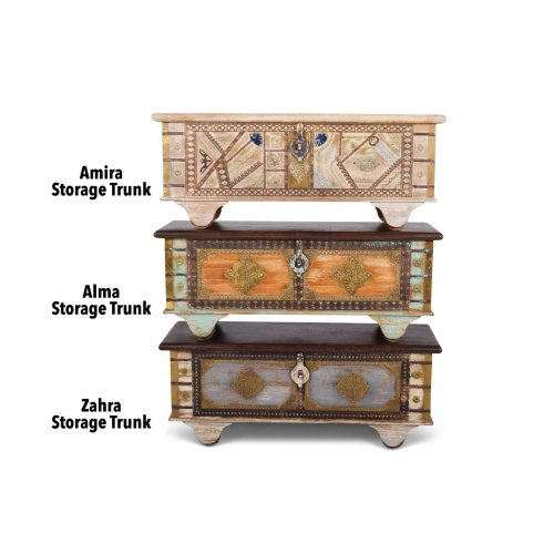 "Zahra Storage Trunk 46"" x 16"" x 19"""