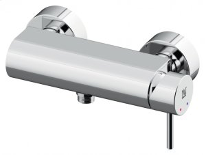 SINGLE LEVER SHOWER MIXER 1 WAY CHROME Product Image