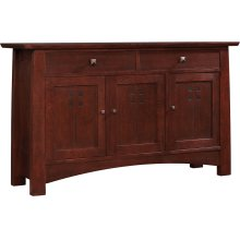 Oak Highlands Small Entertainment Console