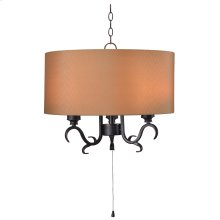 Clairmont - 3 Light Outdoor Pendant