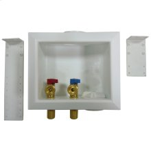 """Washing Machine Box, Right Outlet Without Hammer Arrester, 1/2"""" MIP/SWT"""