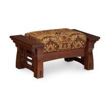 MaKayla Ottoman, Fabric Cushion Seat
