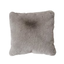 Chinchilla Faux pillow - Mocha Rug