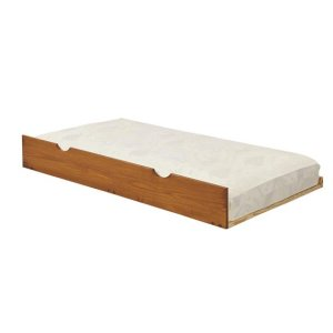 Heartland Full Promo Bed with options: Honey Pine, Full, Twin Trundle