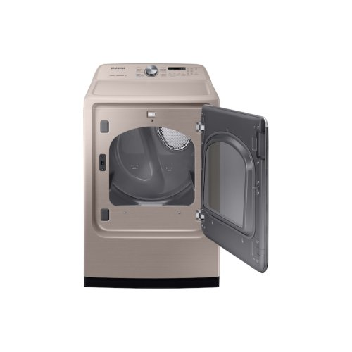 7.4 cu. ft. Electric Dryer with Steam Sanitize+ in Champagne
