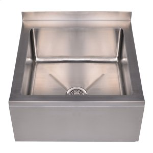 Noah's Collection Utility Series single bowl, floor mount mop sink. Product Image