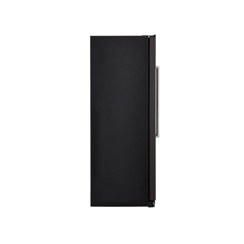 19.9 cu ft. Counter-Depth Side-by-Side Refrigerator with Exterior Ice and Water and PrintShield™ finish - Black Stainless