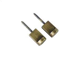Brass Metal Flat Wall Knobs Product Image