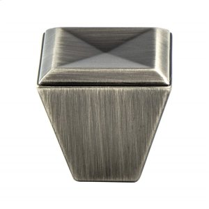 Connections Vintage Nickel Knob Product Image