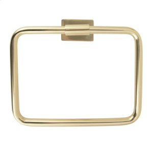 Nayland Towel Ring - Antique Brass Product Image