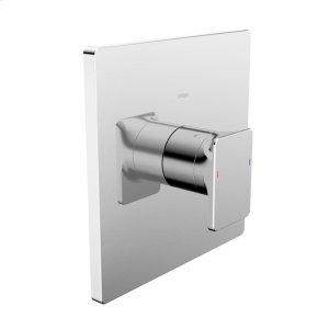 Strata X pressure balance valve trim kit, without diverter, chrome Product Image