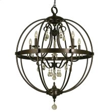 5-Light Compass Foyer Chandelier
