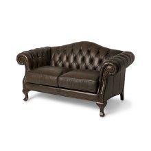 Knightsbridge Charterhse Leather LSeat in Galliano Espresso