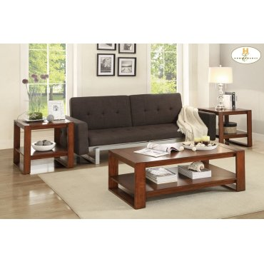 3-Piece Occasional Tables Cocktail Table: 47.75 x 23.75 x 16.25H End Table: 23 x 22 x 22.25H