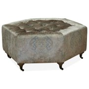 Accent Cocktail Ottoman - ( Regal Summer) Product Image