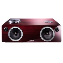 Vacuum-Tube and Digital Amp Wireless Audio System with Dual Dock