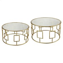 King Priam Cocktail Tables (set of 2)