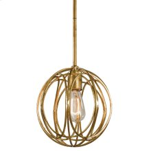 Ofelia Chandelier (gold Leaf) Small