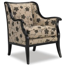 Living Room Cadence Exposed Wood Chair