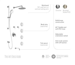 Thermostatic Shower Kit - Chrome Product Image