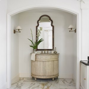 Fluted Sink Chest - Light Product Image