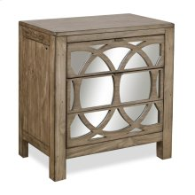 2 Drawer Liv360 Mirror Nightstand