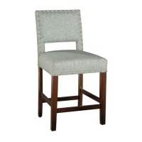 Locke Counter Stool with Nailheads Product Image