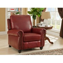 Push Back Recliner Raleigh-Red