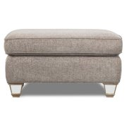 Pewter Ottoman Product Image