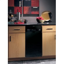 """15"""" Compactor, black door, storage compartment and manual advance odor control system. 120V"""