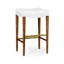 Cosmo Bar Stool, Upholstered in COM