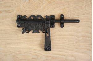 """Black 9"""" Gate Barrel Bolt 935750 Product Image"""