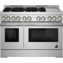 """48"""" RISE™ Gas Professional-Style Range with Chrome-Infused Griddle, RISE"""
