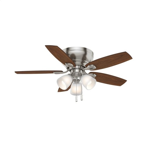 Durant 3 Light Low Profile with 3 Lights 44 inch Ceiling Fan