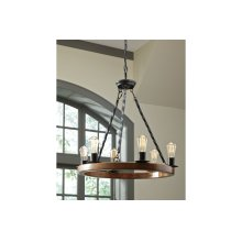 Wood Pendant Light (1/CN)