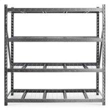 """90"""" x 90"""" Heavy Duty Mega Rack with Four Adjustable Shelves"""