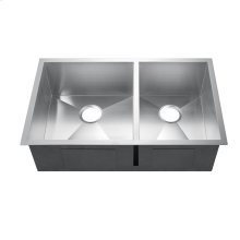 Kelsey Double Bowl Stainless Kitchen Sink