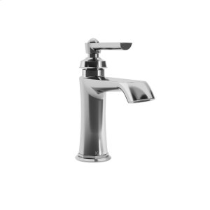 Single hole bathroom sink faucet with pop up drain - Chrome Product Image