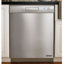 "Distinctive 24"" Dishwasher, Stainless Steel"