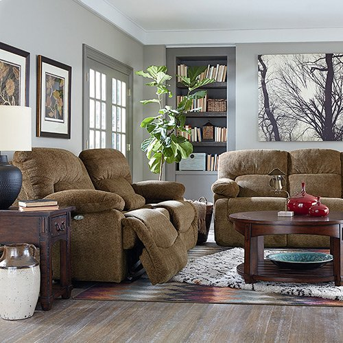 Asher PowerRecline La-Z-Time® Full Reclining Sofa