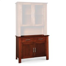 "East Village Hutch Base, 43 1/2""w"