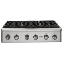 "Monogram 36"" Professional Gas Rangetop with 6 Burners (Natural Gas)"