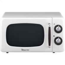 .7 Cubic -ft 700-Watt Retro Microwave (White)