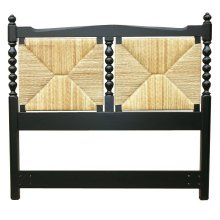 Newport Queen Headboard - Blk