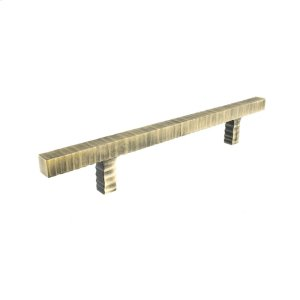 Antique Brass Forged 3 Square Bar Pull 6 3/4 Inch (c-c) Product Image