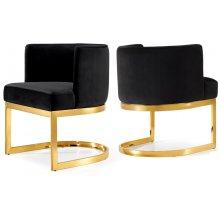 """Gianna Velvet Dining Chair - 24"""" W x 22"""" D x 29.5"""" H"""