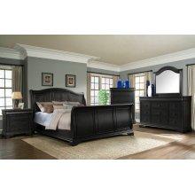 Cameron Charcoal Sleigh Bedroom