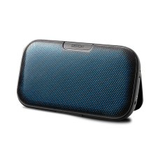Portable Bluetooth ® Speaker System with an up to 10 hour rechargeable battery.